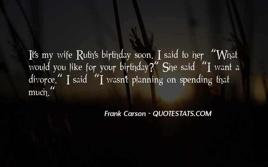 Wife's Birthday Quotes #575756