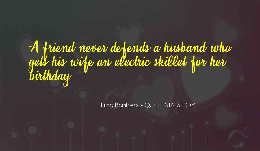 Wife's Birthday Quotes #675803