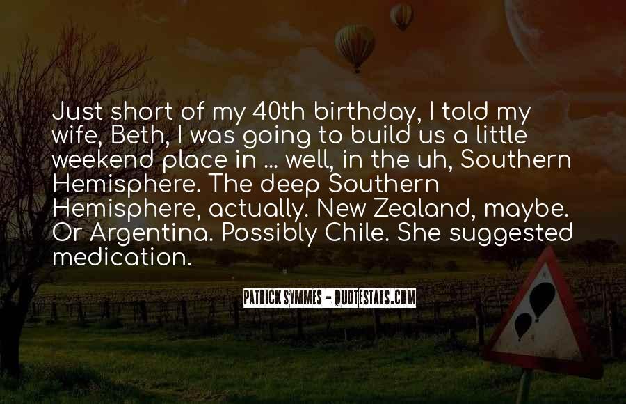 Wife's Birthday Quotes #7292