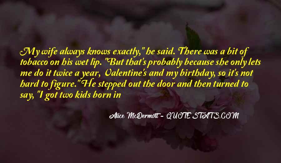Wife's Birthday Quotes #94953