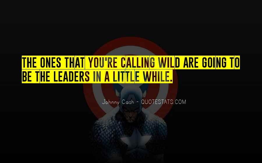 Wild Ones Quotes #1804431