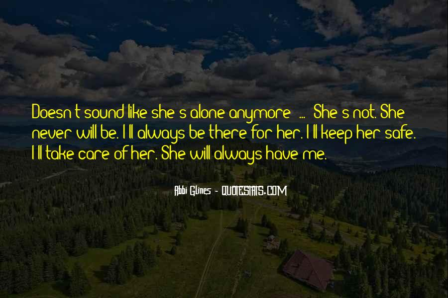 Will Always Care Quotes #1075672