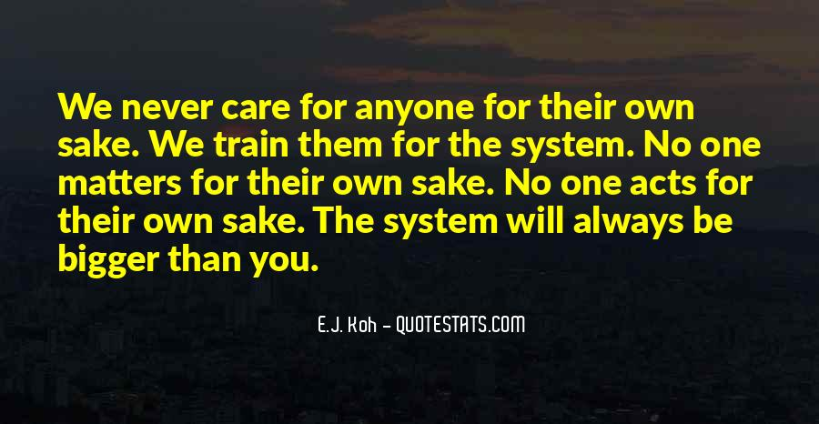 Will Always Care Quotes #1150698