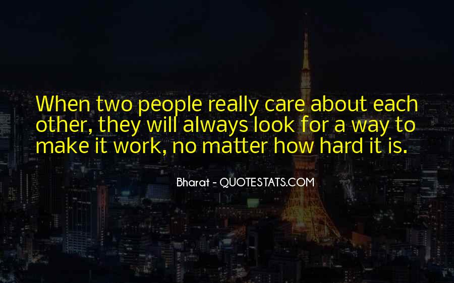 Will Always Care Quotes #1160692