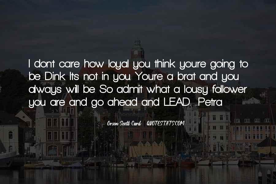 Will Always Care Quotes #1256145