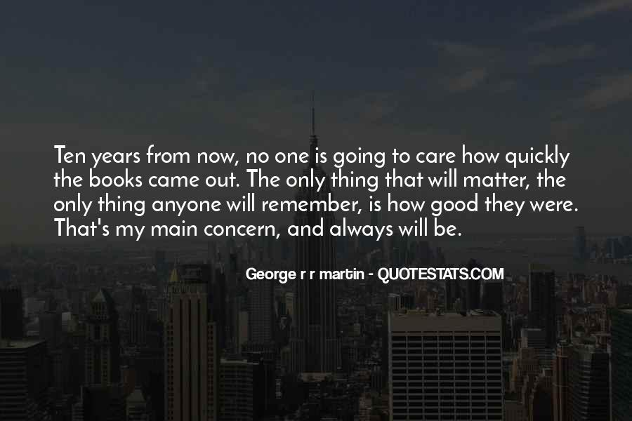 Will Always Care Quotes #462173
