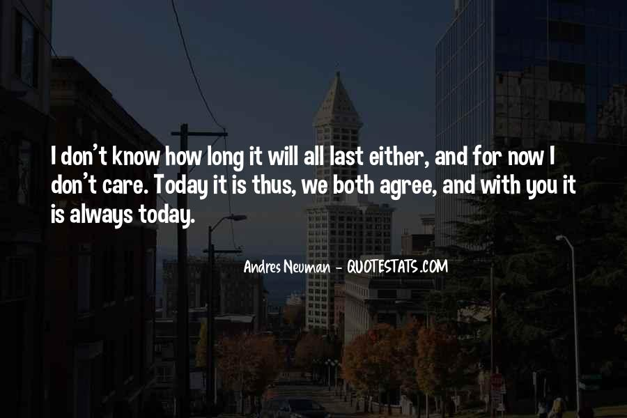 Will Always Care Quotes #563325