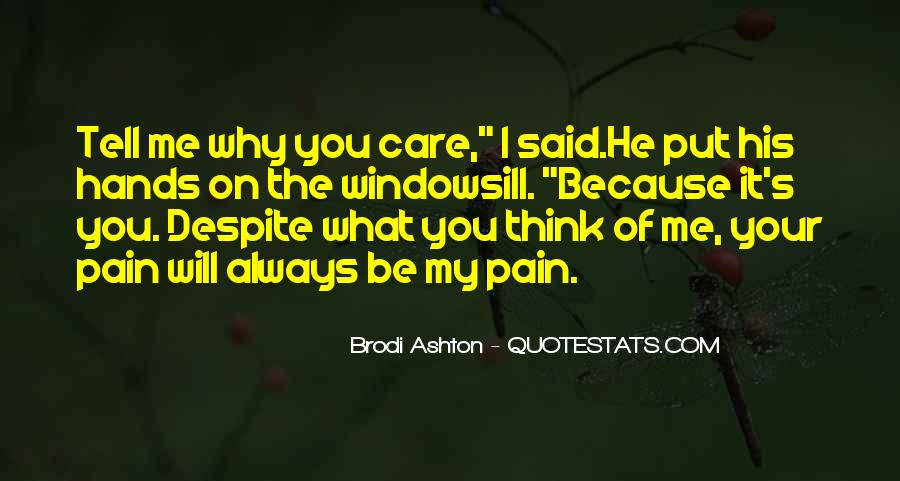 Will Always Care Quotes #93346