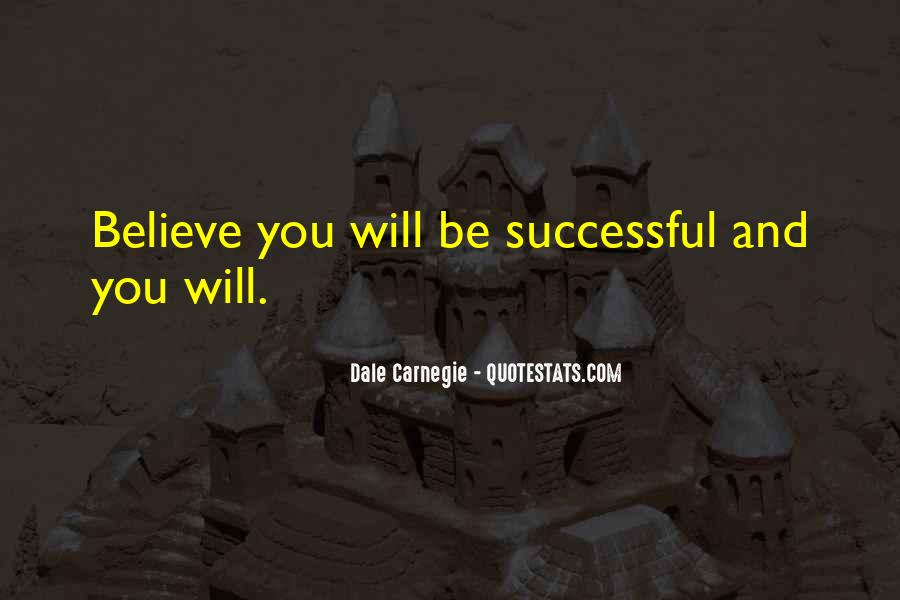 Will Be Successful Quotes #203479