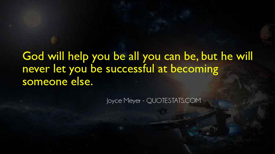 Will Be Successful Quotes #254191