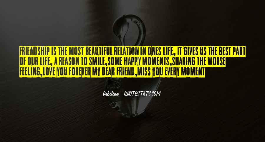 Will Miss My Best Friend Quotes #832519