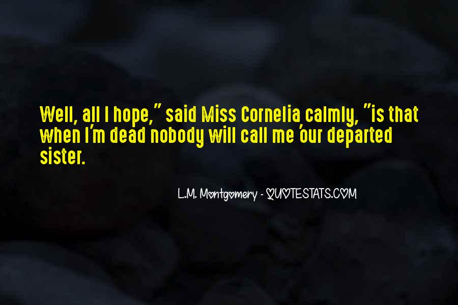 Will Miss You Sister Quotes #120119