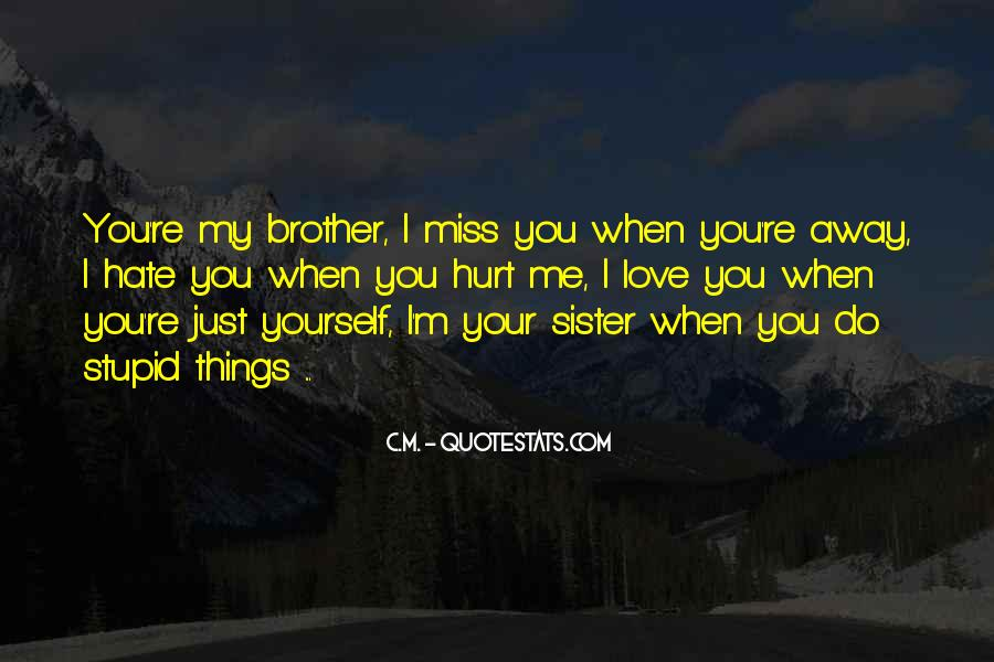 Will Miss You Sister Quotes #573183