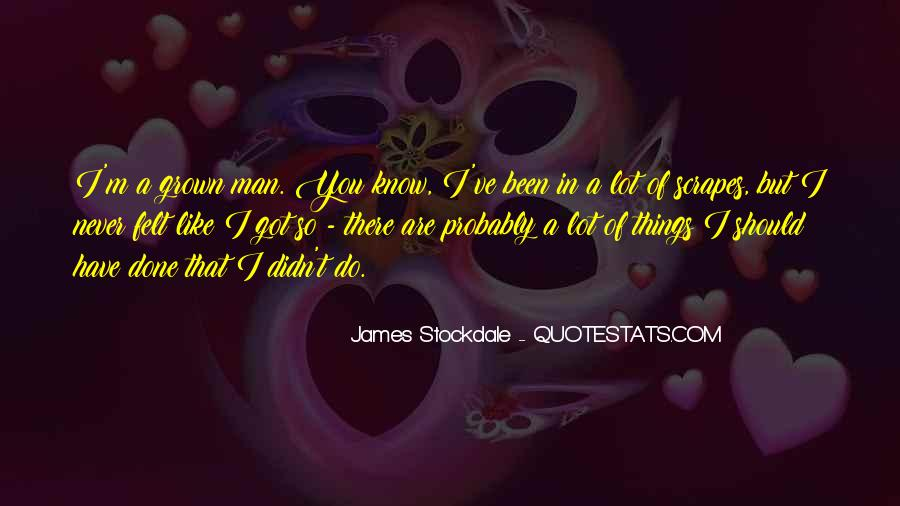 Will Stockdale Quotes #671184
