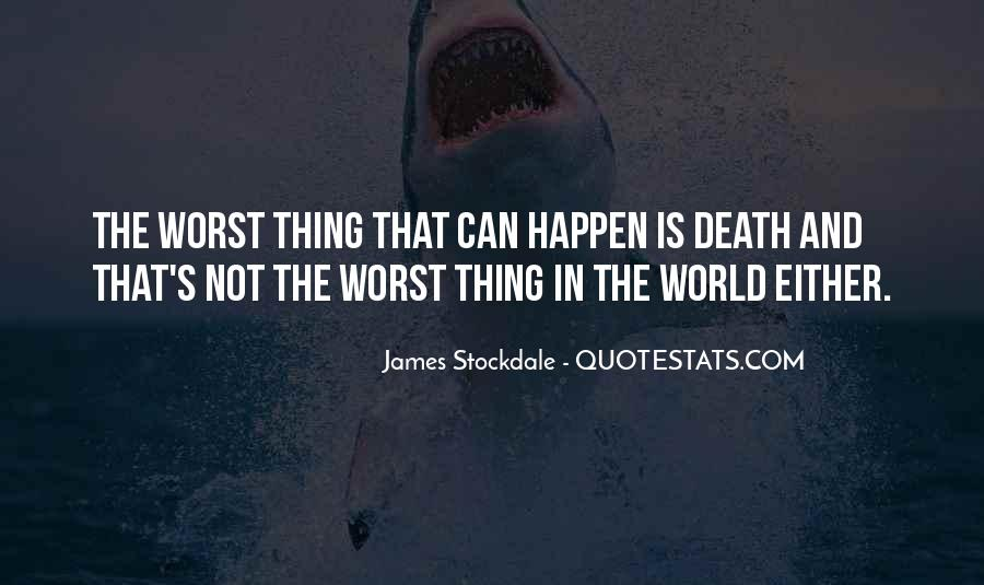 Will Stockdale Quotes #904531