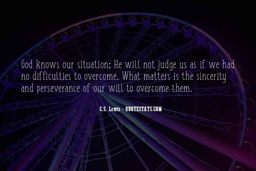 Will To Overcome Quotes #319457