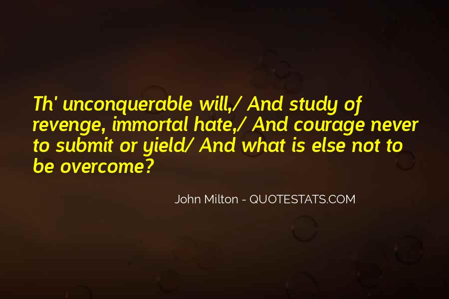 Will To Overcome Quotes #605378