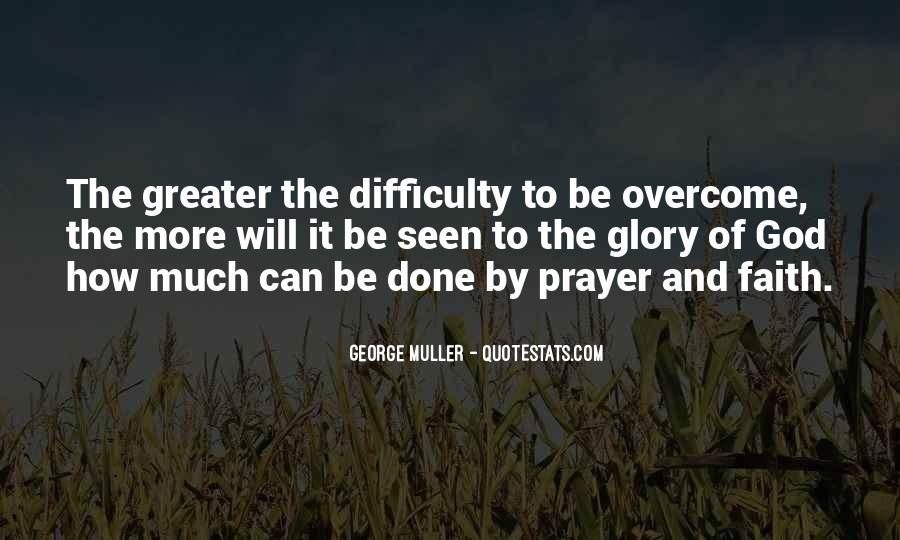 Will To Overcome Quotes #754741