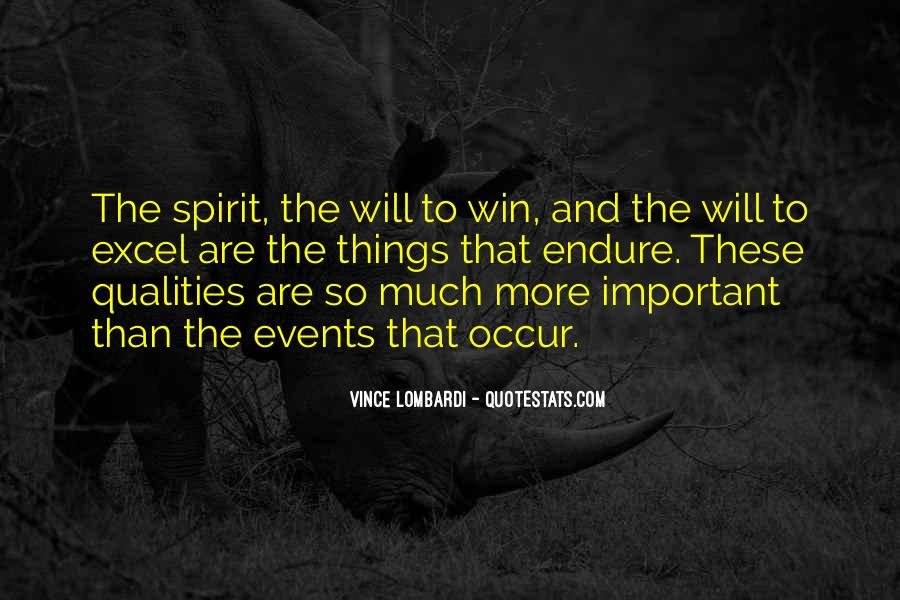 Will To Quotes #3134