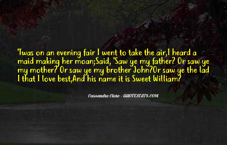 Will To Tessa Quotes #1133491