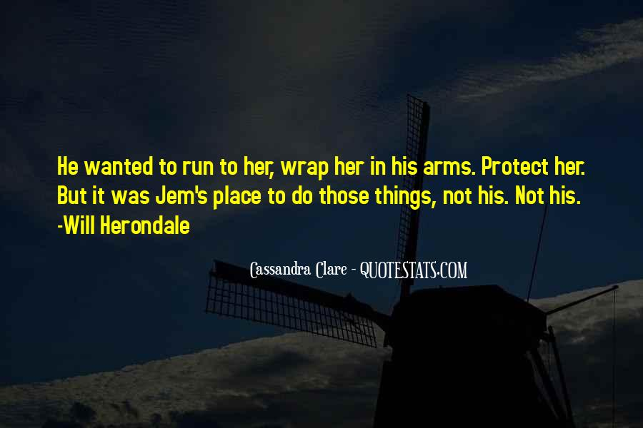 Will To Tessa Quotes #16449