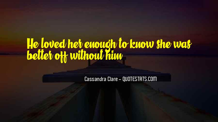 Will To Tessa Quotes #1710997
