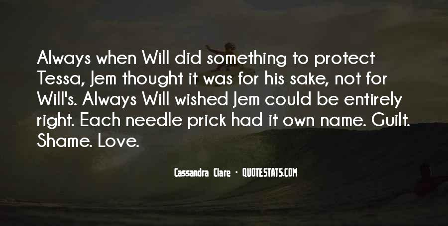 Will To Tessa Quotes #1727040