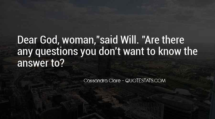 Will To Tessa Quotes #187128