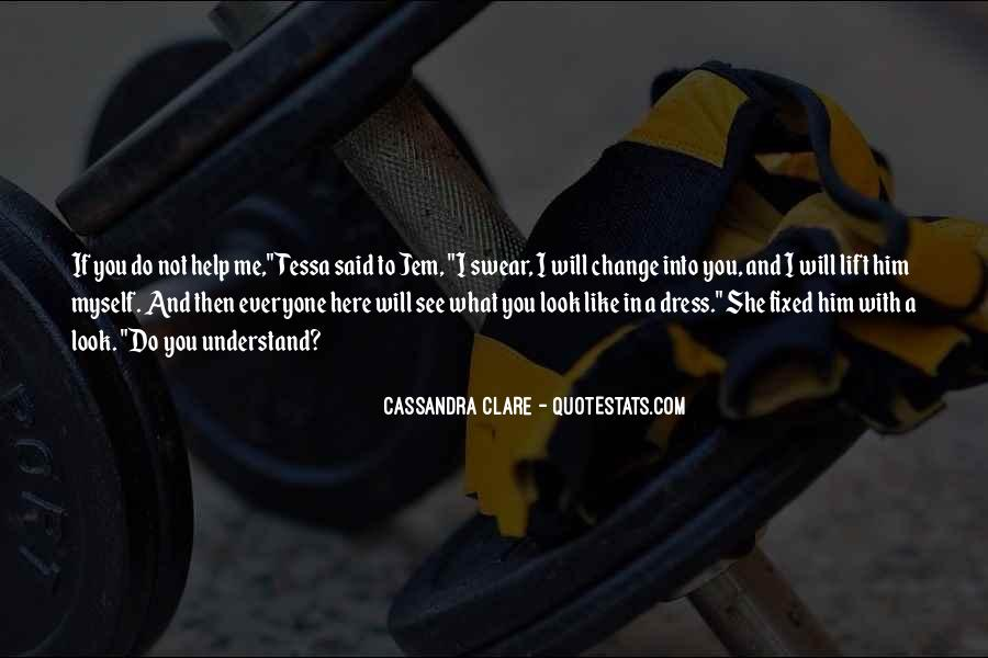 Will To Tessa Quotes #249702