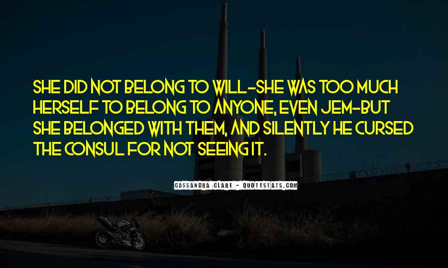Will To Tessa Quotes #339565