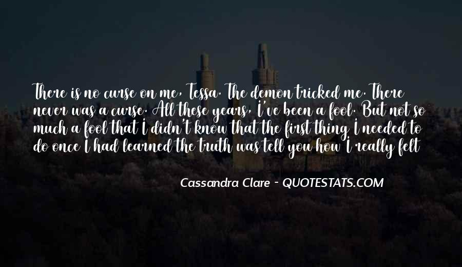 Will To Tessa Quotes #428994