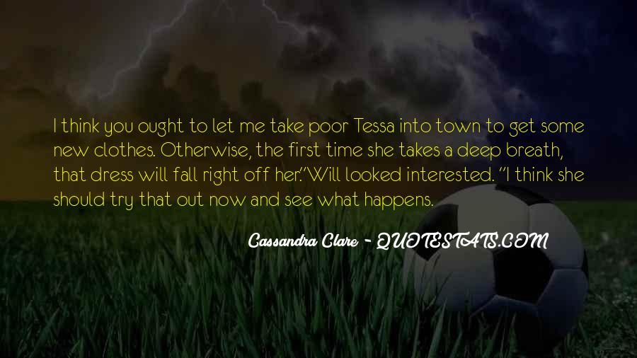 Will To Tessa Quotes #506205