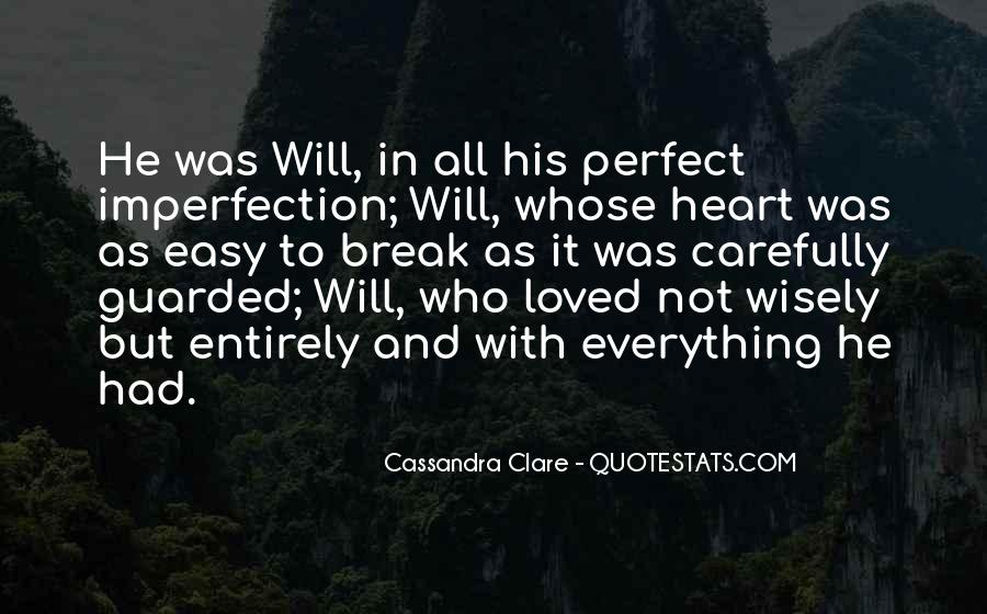 Will To Tessa Quotes #792290
