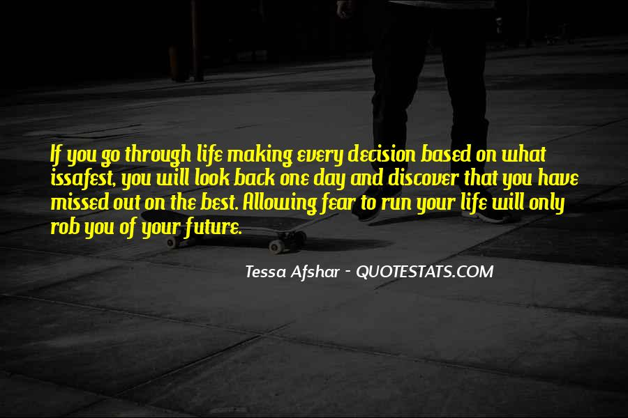 Will To Tessa Quotes #898763
