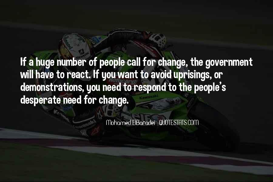 Will You Change Quotes #43199