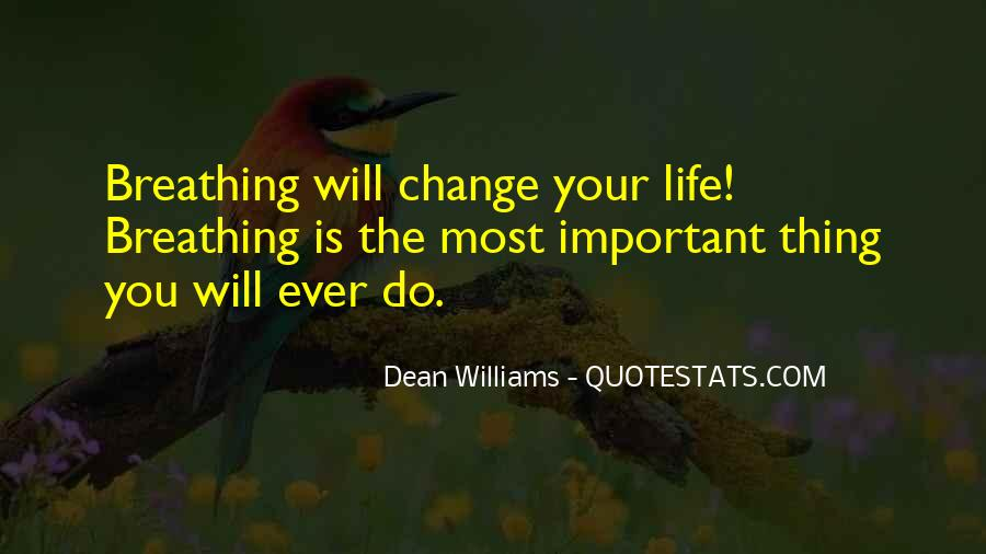 Will You Change Quotes #77176