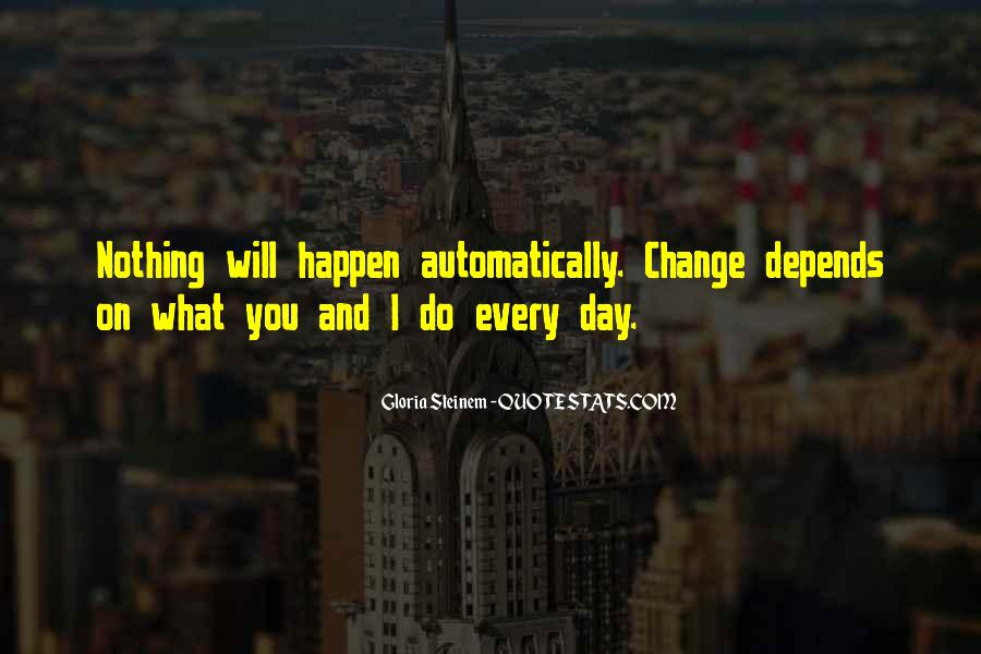 Will You Change Quotes #93392