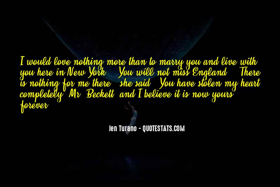 Will You Marry Me Love Quotes #1056871