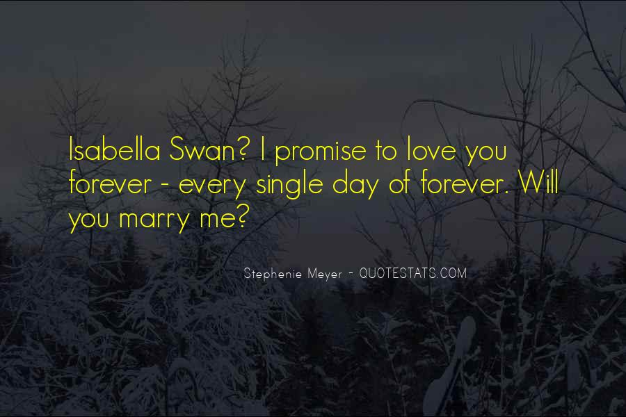 Will You Marry Me Love Quotes #1548131