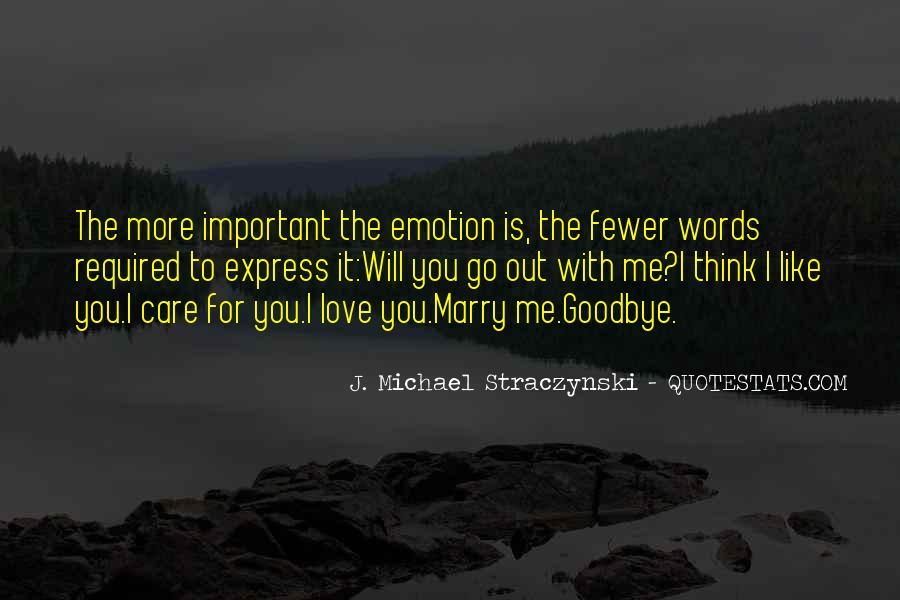 Will You Marry Me Love Quotes #1552967