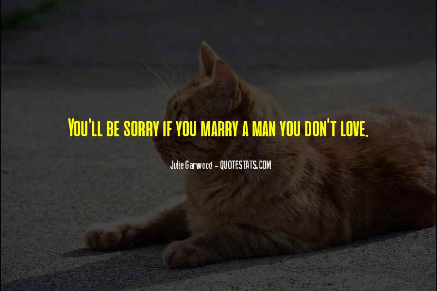 Will You Marry Me Love Quotes #79079
