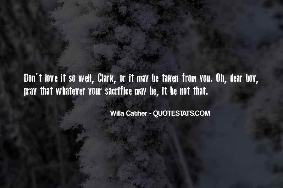 Willa Cather Love Quotes #1366211