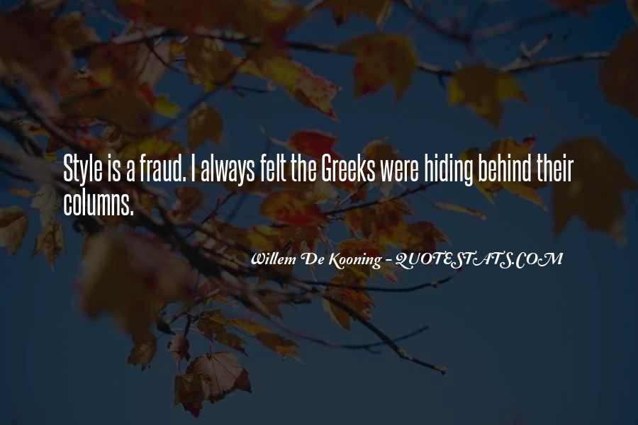 Willem Kooning Quotes #490752