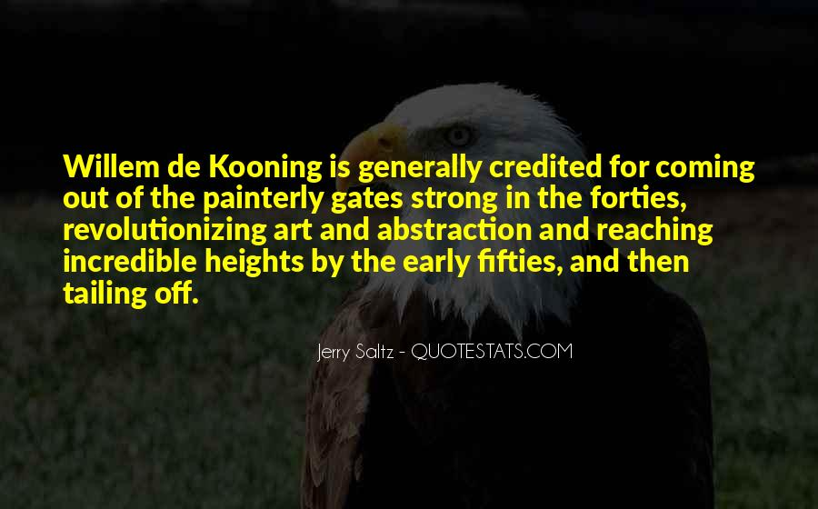 Willem Kooning Quotes #509555
