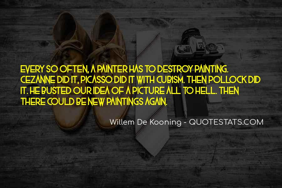 Willem Kooning Quotes #859541