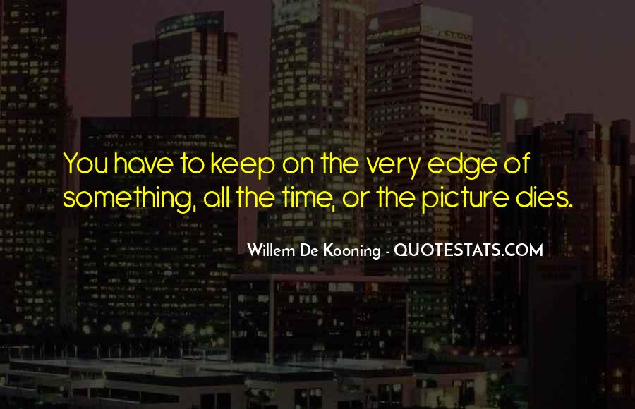 Willem Kooning Quotes #917617