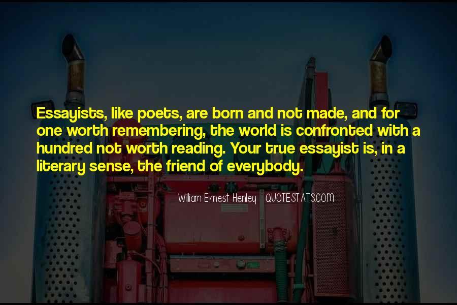 William Ernest Quotes #1044395