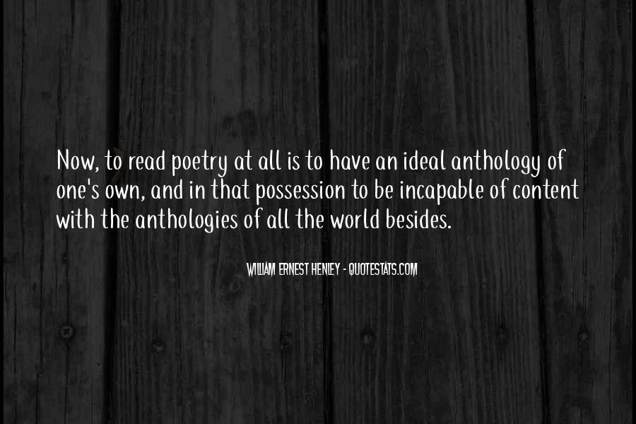 William Ernest Quotes #1618710