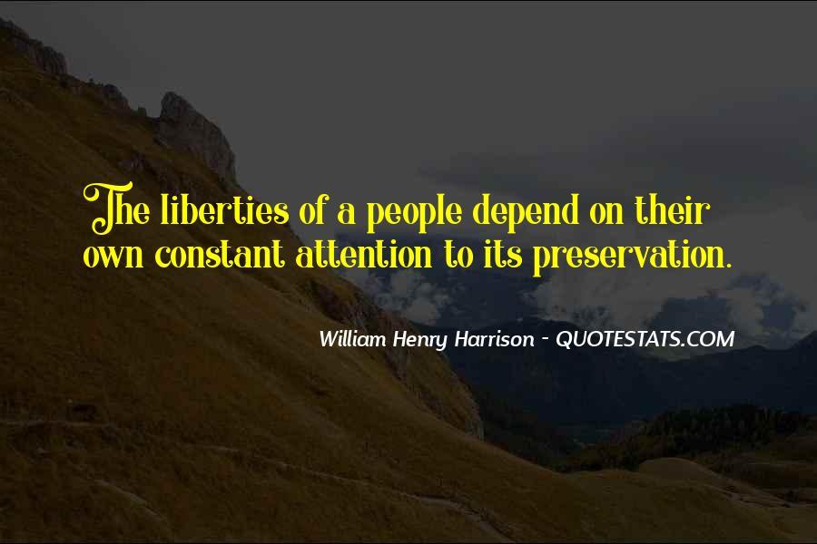 William Harrison Quotes #102037
