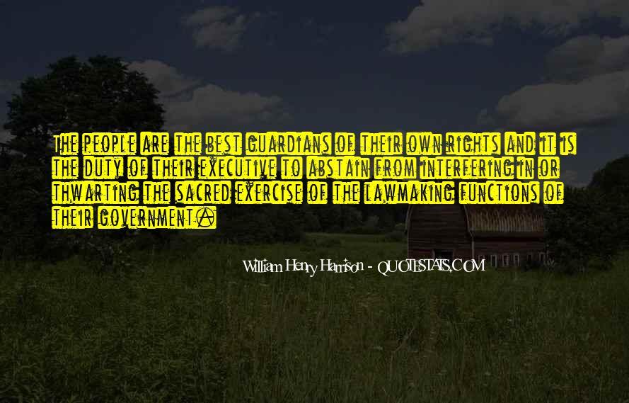 William Harrison Quotes #1071619